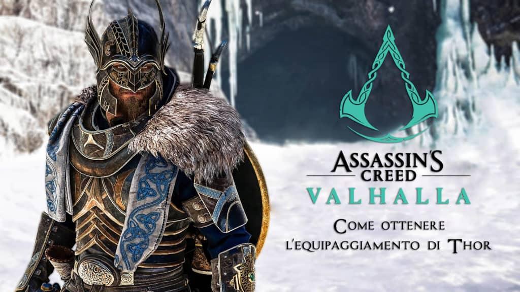 Come ottenere l'equipaggiamento di Thor in Assassin's Creed: Valhalla