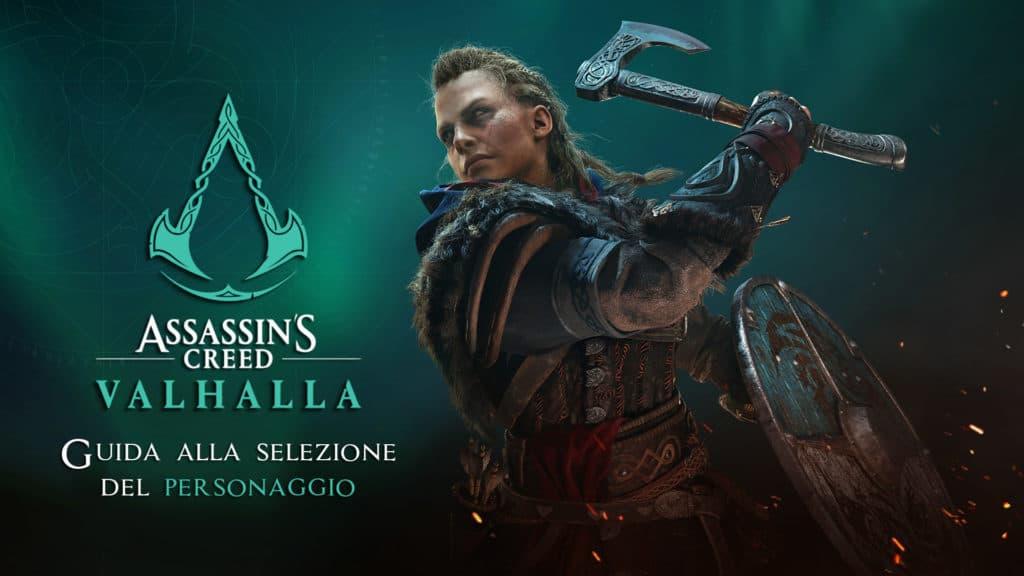 Guida alla selezione del personaggio in Assassin's Creed: Valhalla