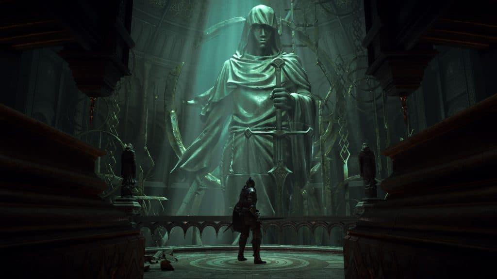 Il Nexus e statua gigante