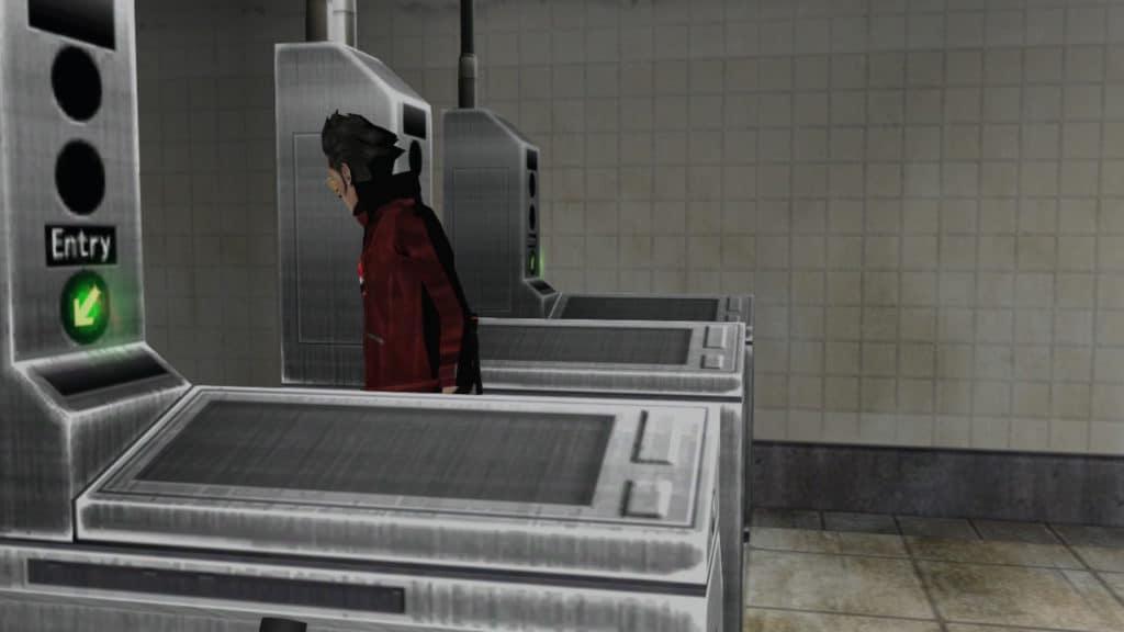 No More HEroes tornelli della metro