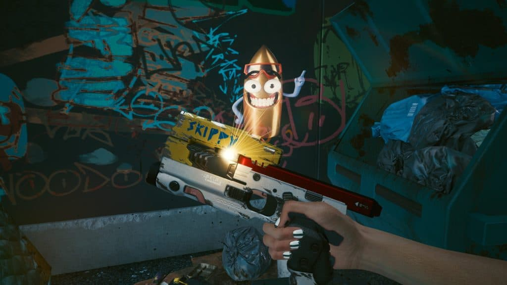 L'arma iconica, Skippy