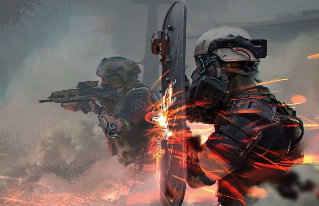 Cyberpunk Red milizie dell NPCD