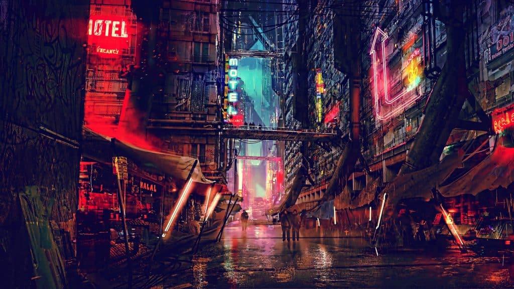 Cyberpunk Red città