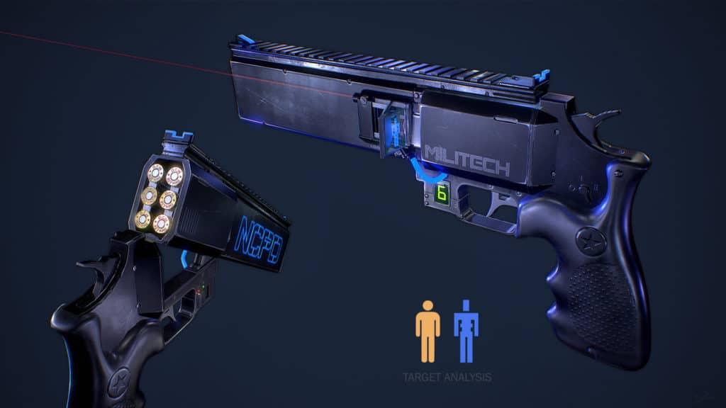 Revolver della polizia