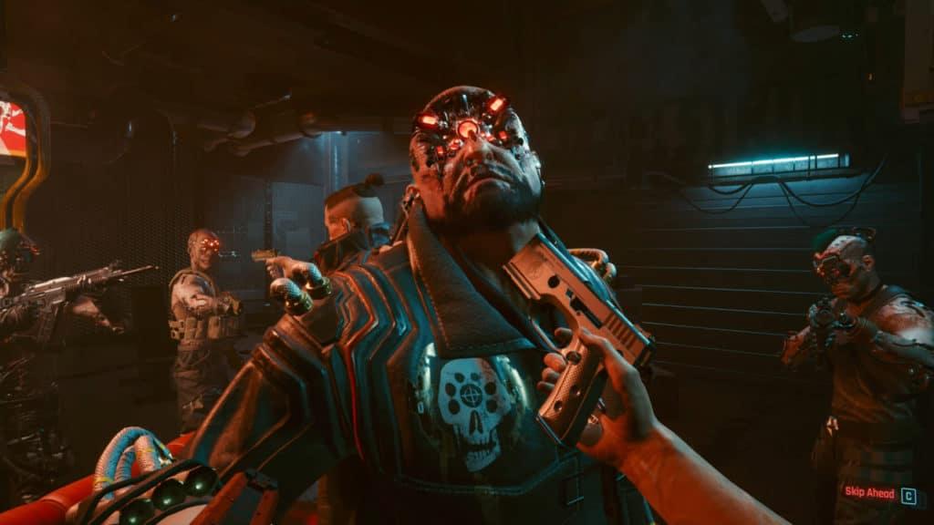 Primo boss di cyberpunk 2077