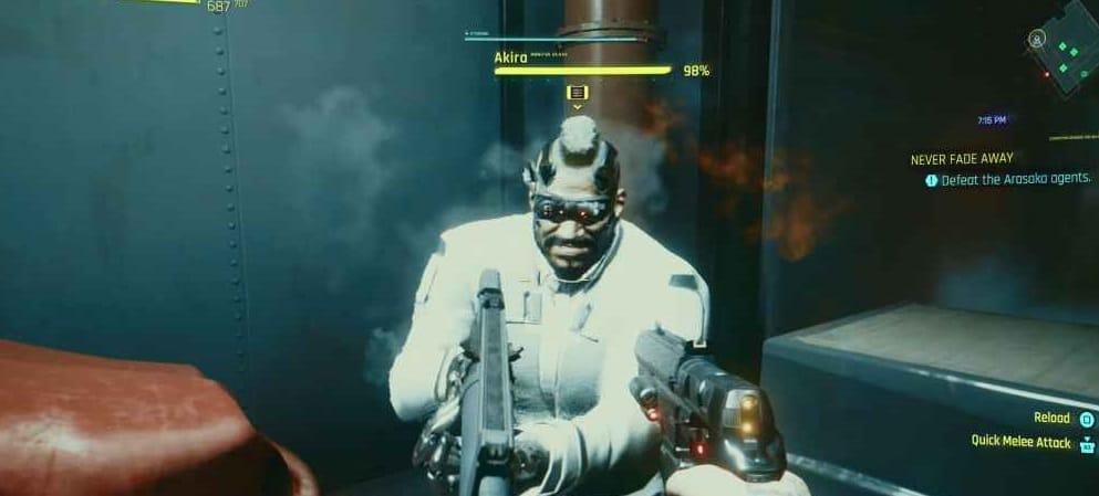 Quarto boss di cyberpunk 2077