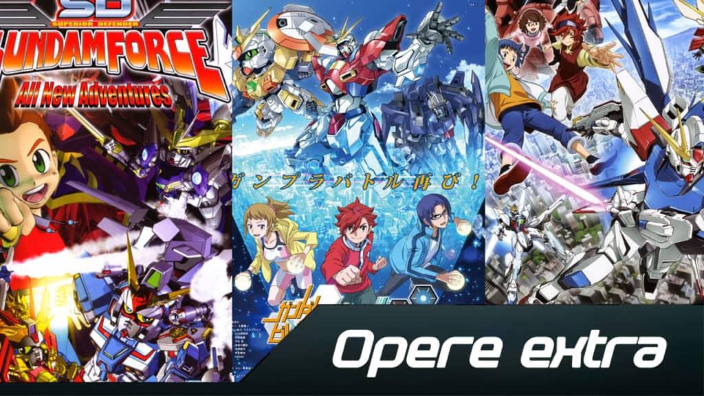 Opere extra Gundam