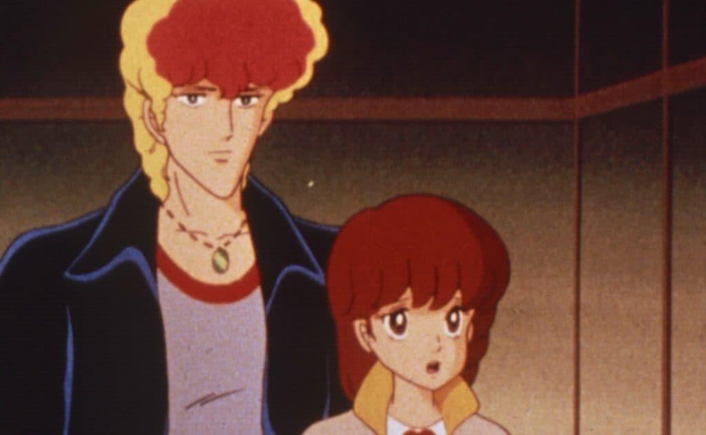 Mirko e Licia in una puntata dell'anime