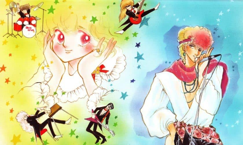 Diverse illustrazioni del manga Love Me Knight