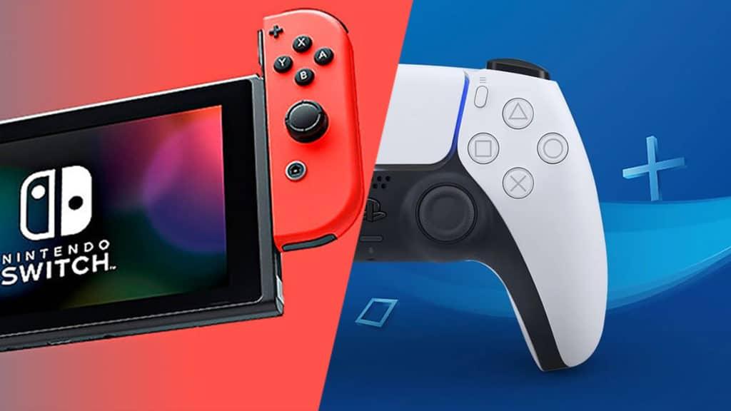 Nintendo Switch e DualSense