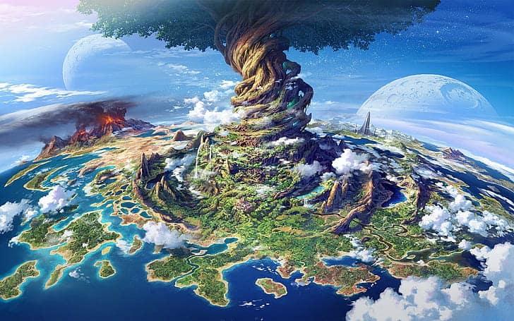 Yggdrasil, l'albero del mondo. E' possibile trovarlo in Valheim