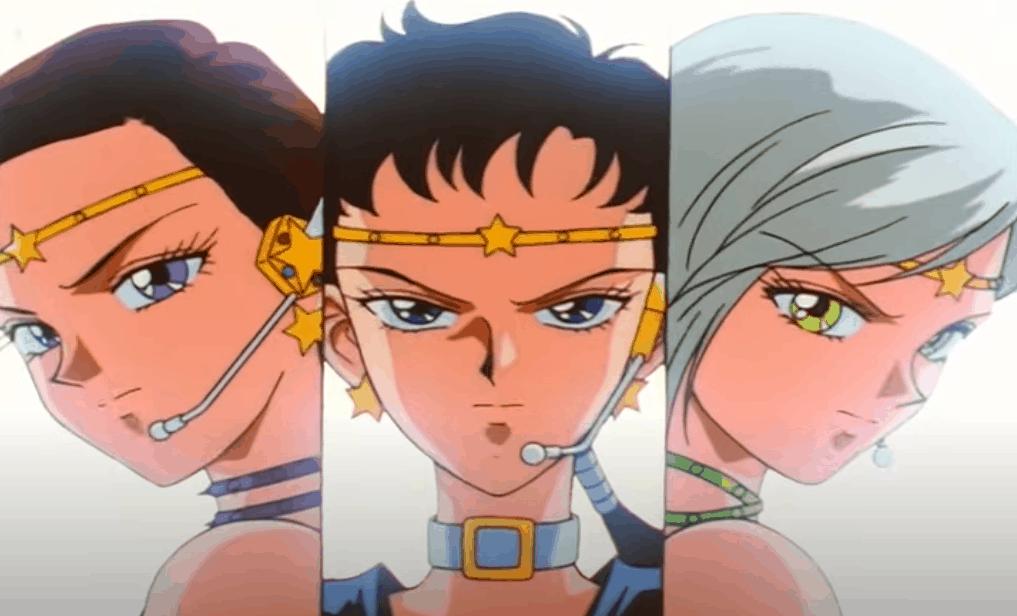 Sailor Starlight trasformazione di gruppo