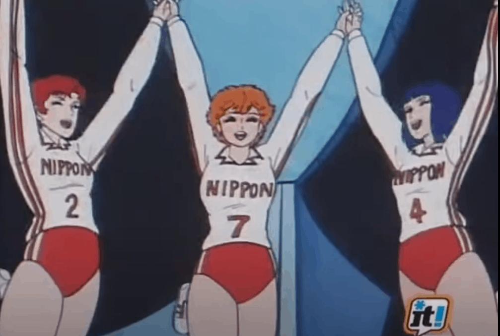 Mila e Nami festeggiano la vittoria contro l'URSS