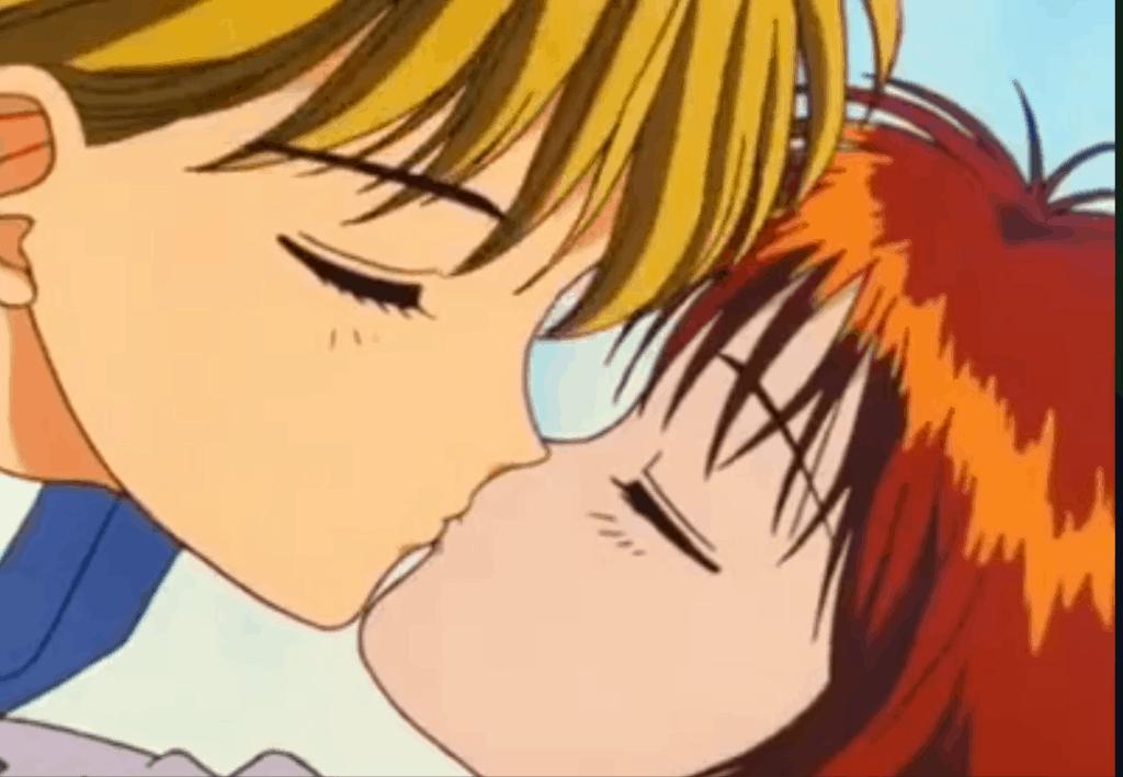 Il primo bacio tra Miki e Yuri