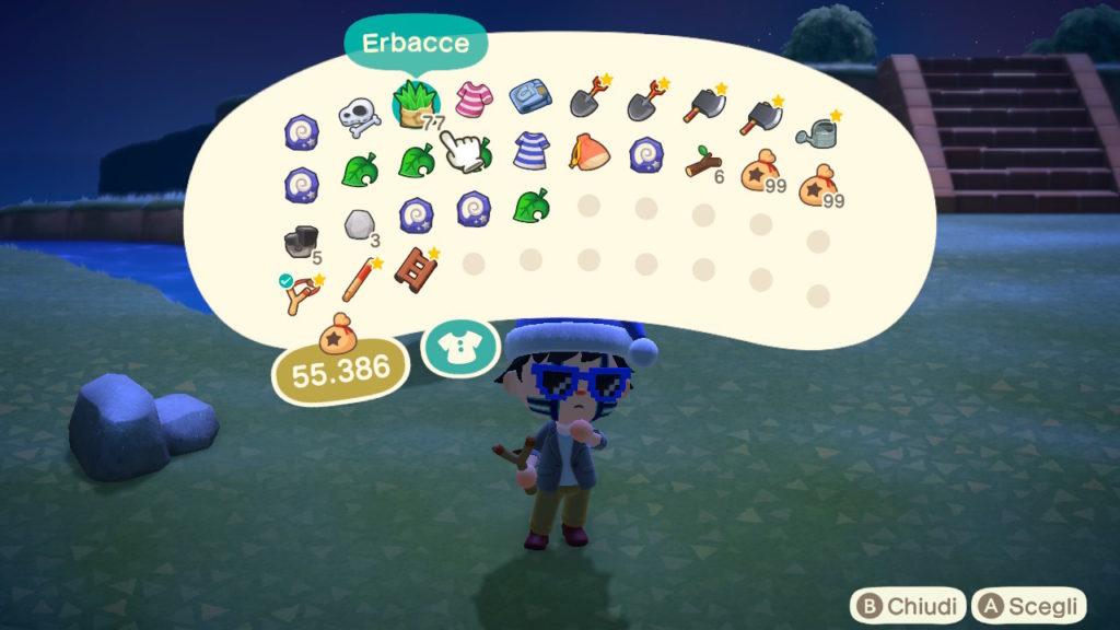 Erbacce su Animal Crossing