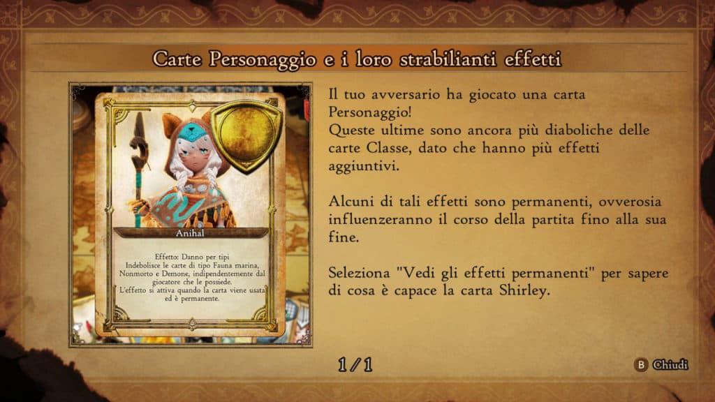 Le Carte Personaggio di Bravely Default 2