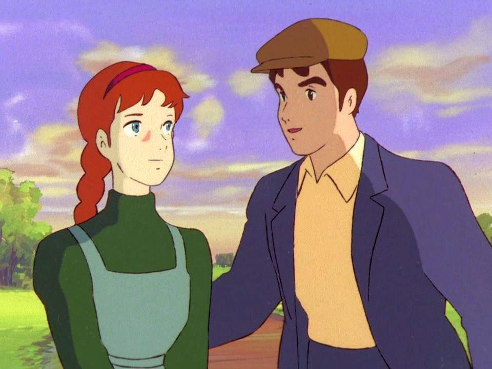 Gilbert insieme ad Anna.