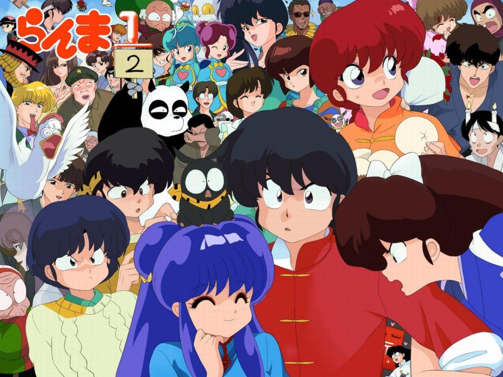 I vari personaggi della serie