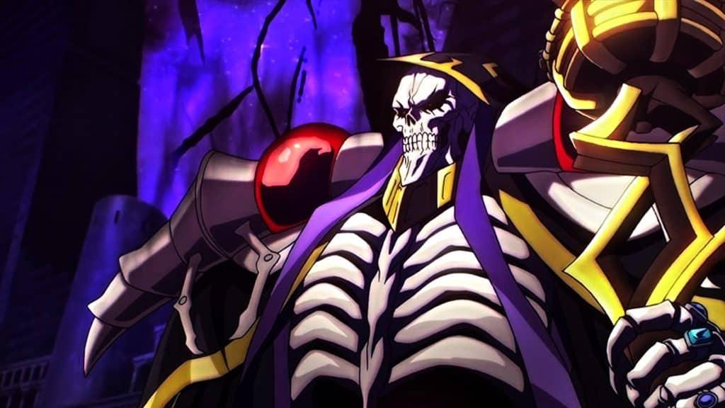 Momonga, il protagonista di Overlord