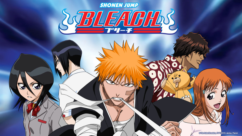 I personaggi principali di Bleach
