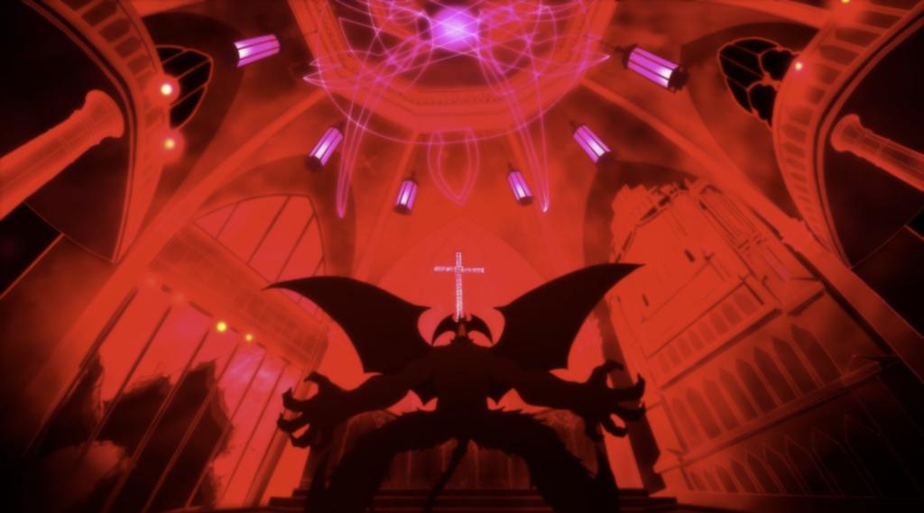 Akira si trasforma in Amon in Devilman Crybaby