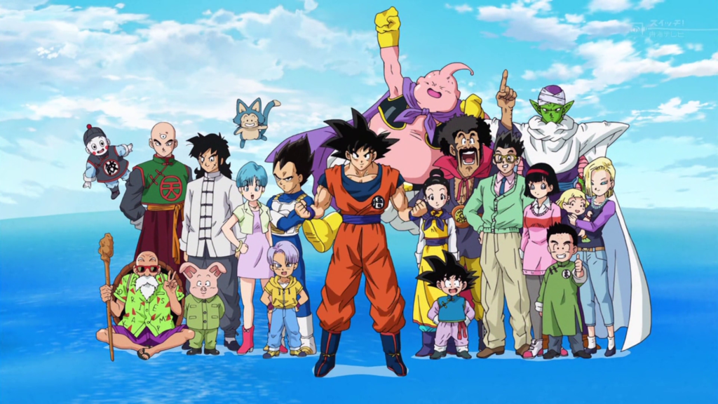 Vari personaggi di Dragon Ball