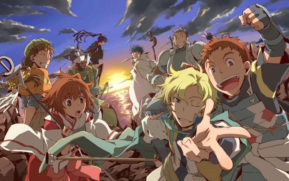 Diversi personaggi dall'anime Log Horizon