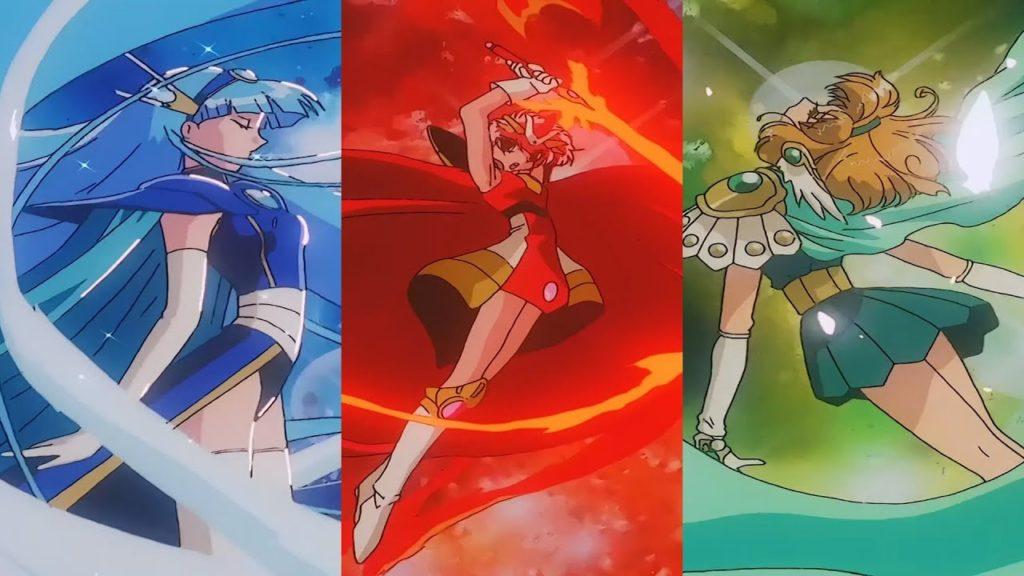 Hikaru, Umi e Fu di Rayearth