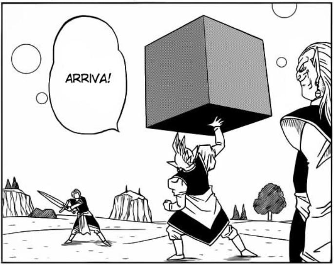 Allenamento di Trunks con Kaioshin