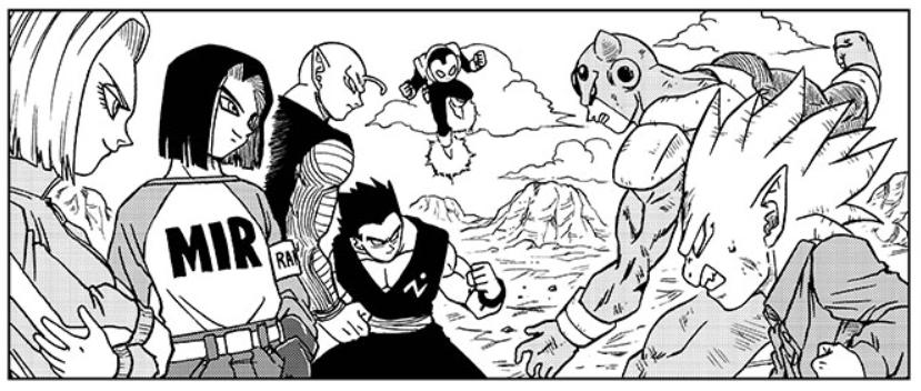 La battaglia tra gli z warrior e l'esercito di moro.