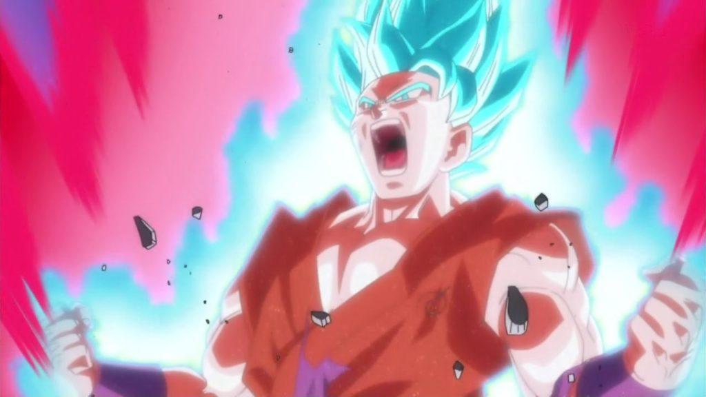 Goku Super Saiyan Blu Kaioken