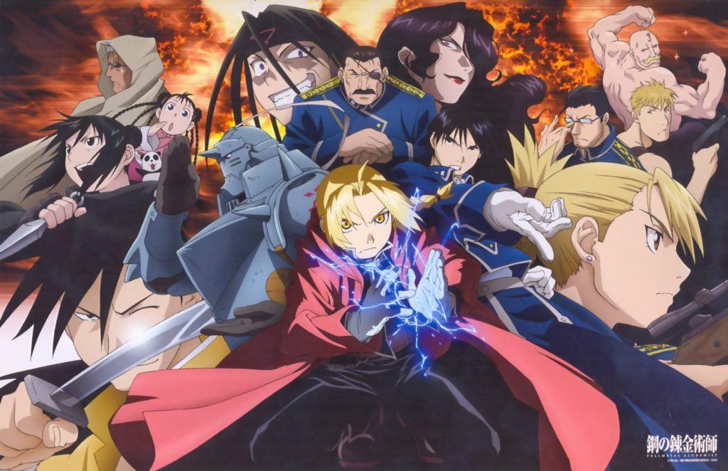 Vari personaggi di Fullmetal Alchemist Brotherhood