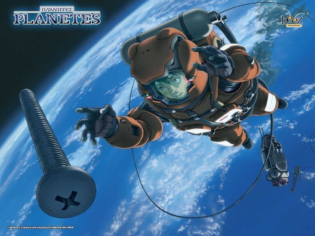 Hachimaki, protagonista della serie Planetes