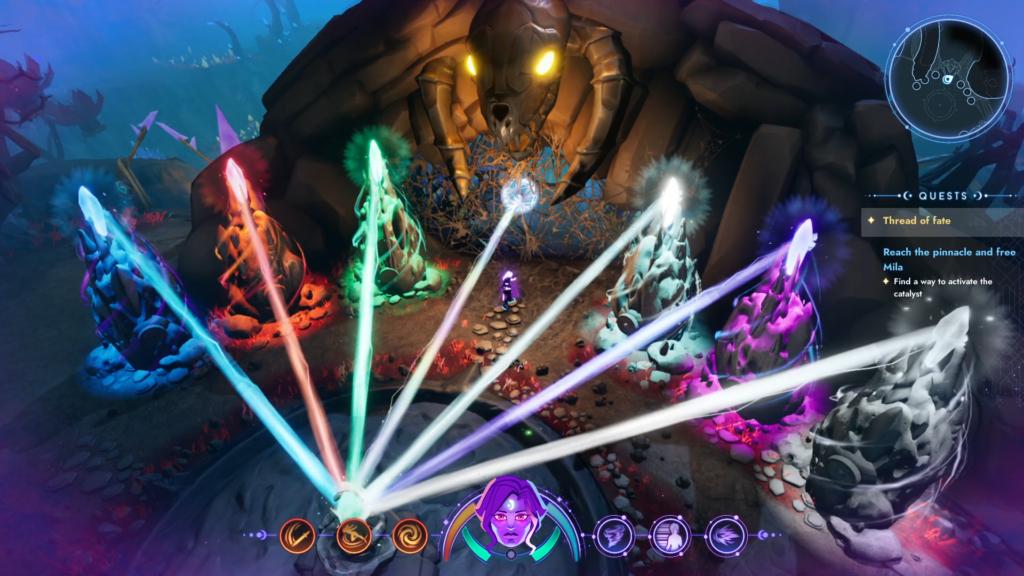 Uno screenshot di Batora: Lost Heaven