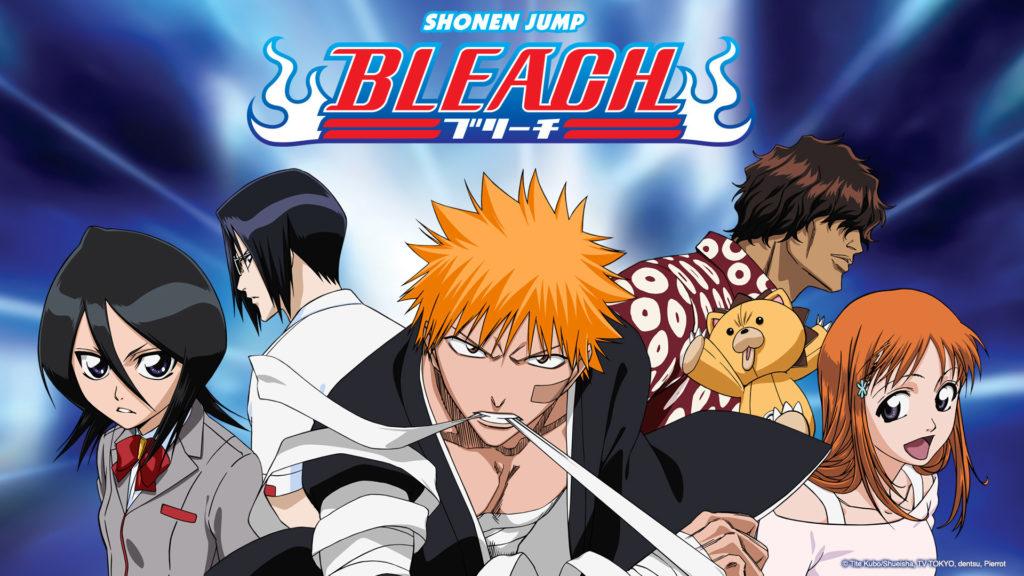 Diversi personaggi protagonisti dell'anime di Bleach