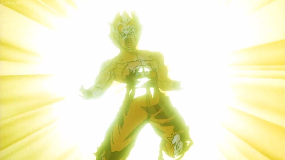 Goku Super Saiyan Genkidama