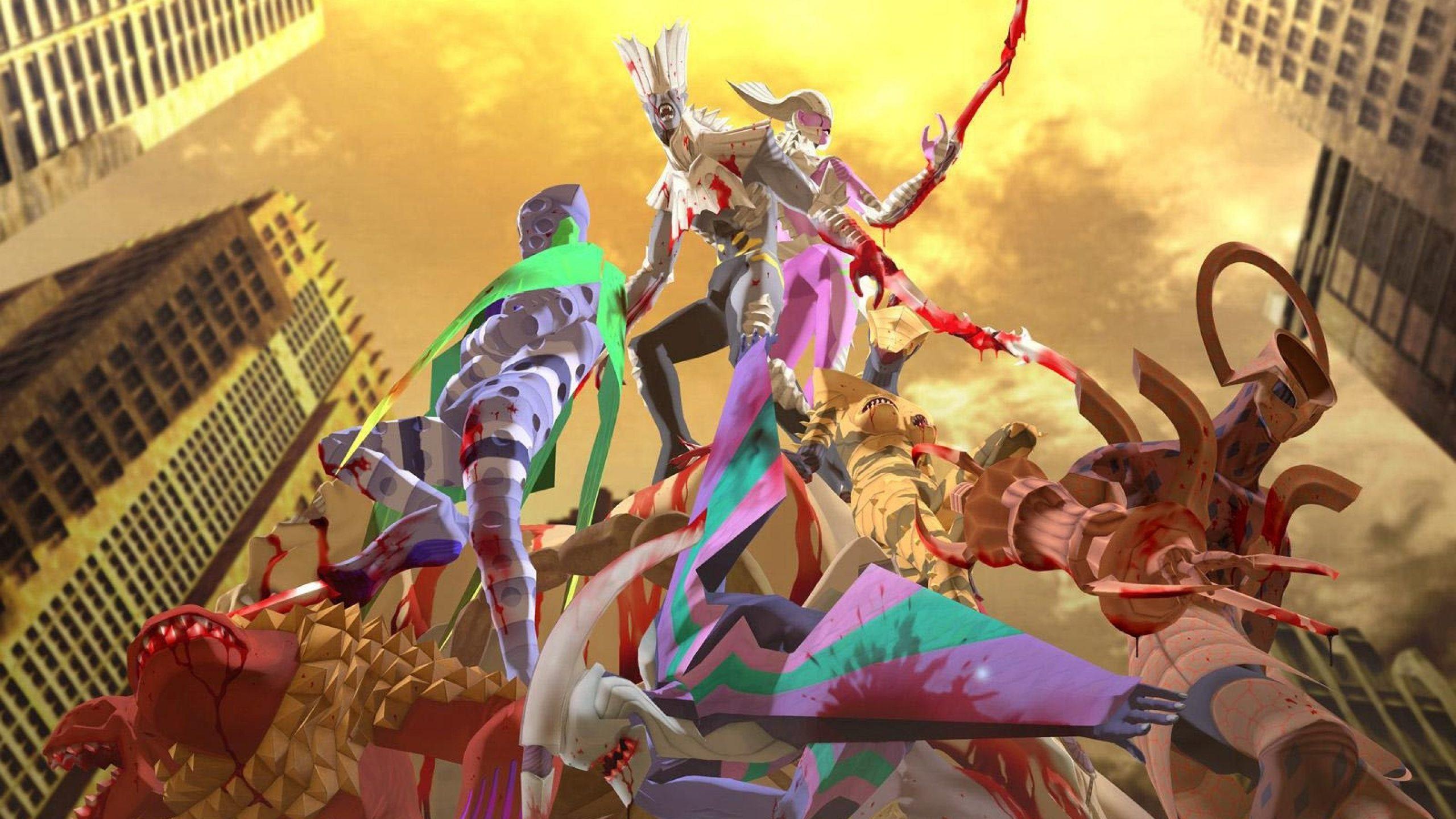 Copertina ufficiale delle soundtrack di Digital Devil Saga 2