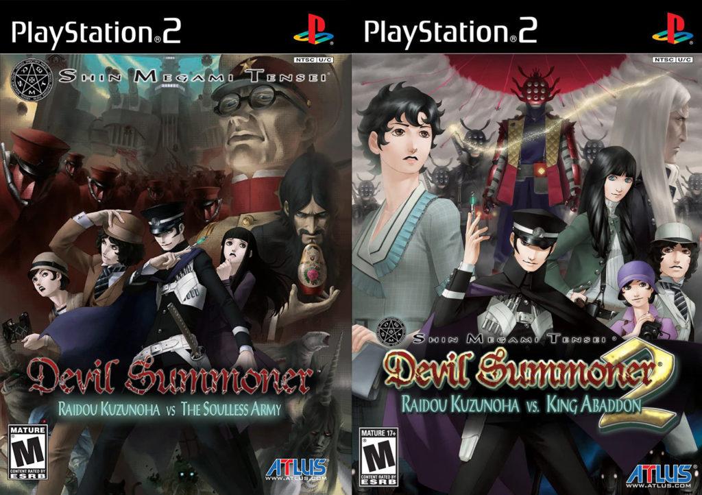 Devil Summoner: Raidou Kuzunoha vs. The Soulless Army e Devil Summoner: Raidou Kuzunoha vs. King Abaddon