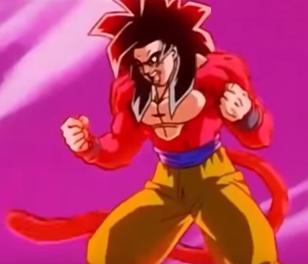 Goku Super Saiyan 4 Full Power