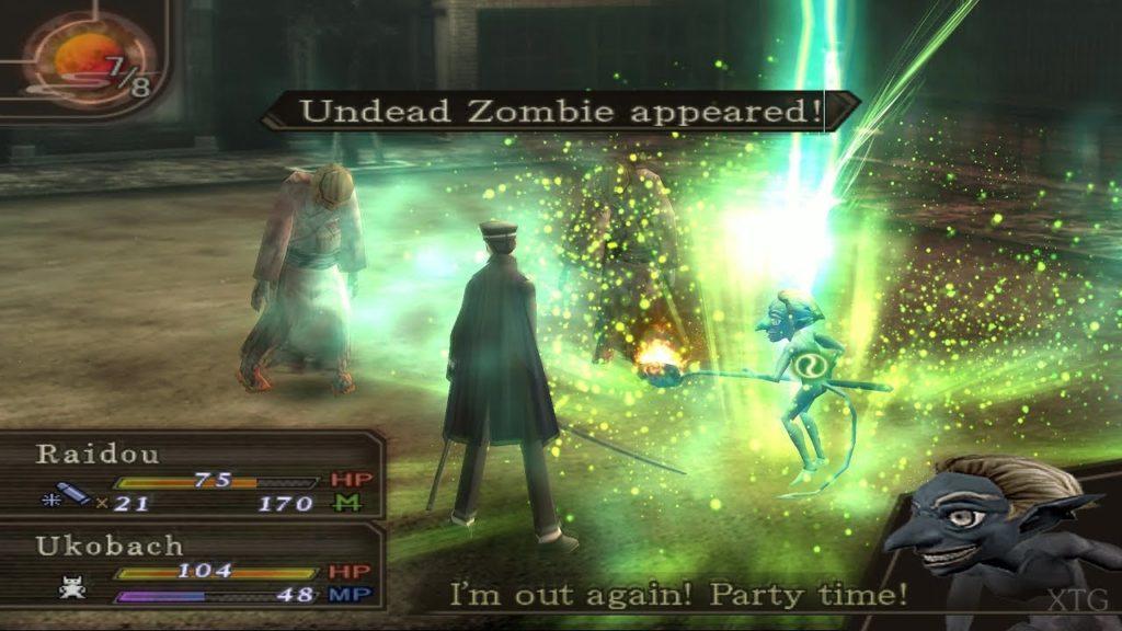 Esempio di gameplay da Devil Summoner: Raidou Kuzunoha vs. The Soulless Army