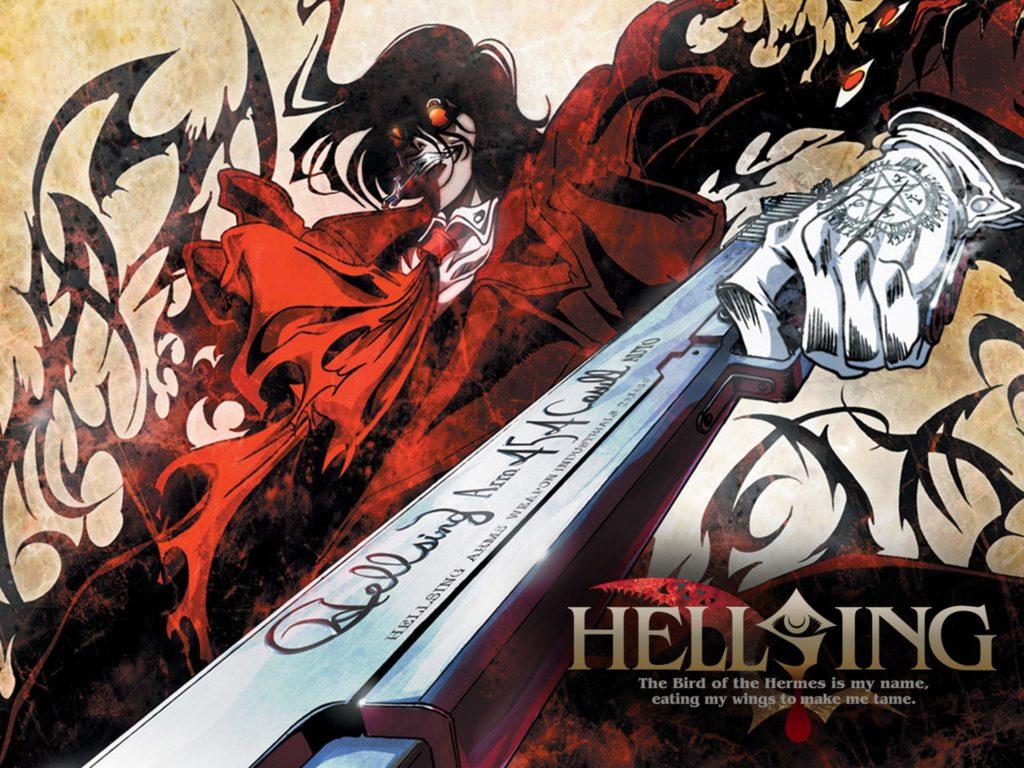 alucard, il protagonista di hellsing