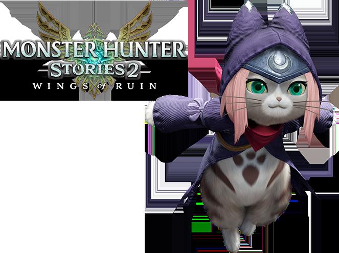 Costume di Tsukino su Monster Hunter Rise