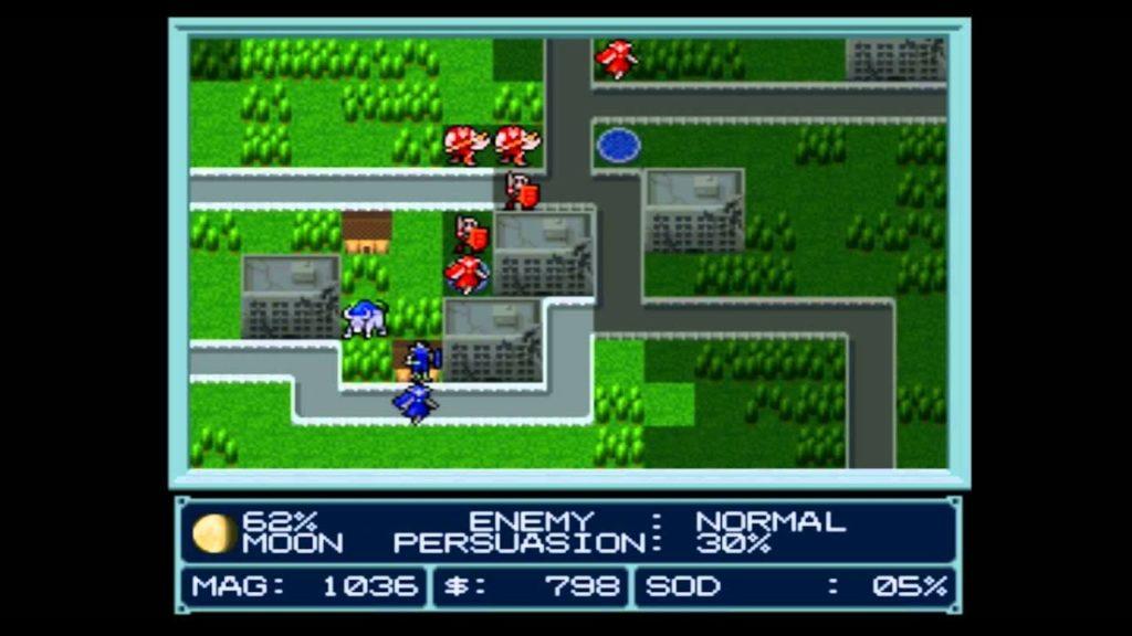 Fase di gameplay di Majin Tensei