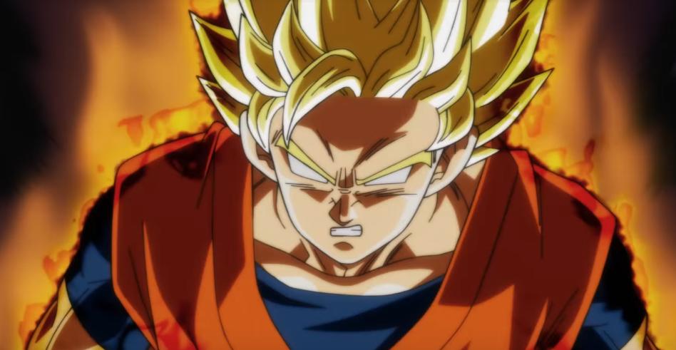 Goku Super Saiyan Berserk