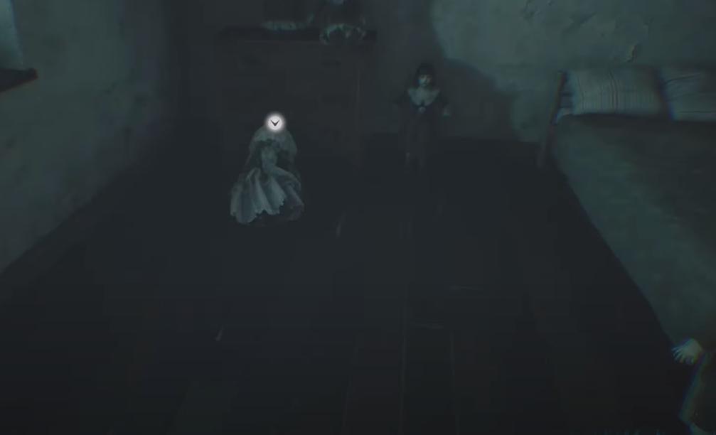 Il primo spawn point della bambola