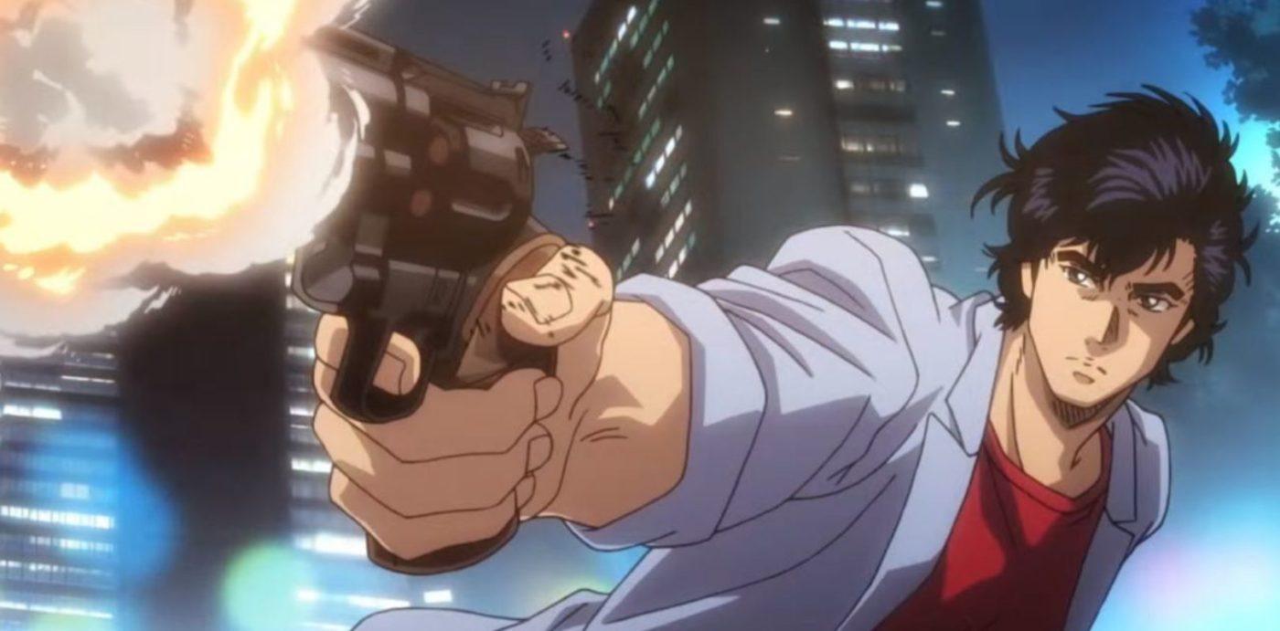 Ryo Saeba di City Hunter che spara