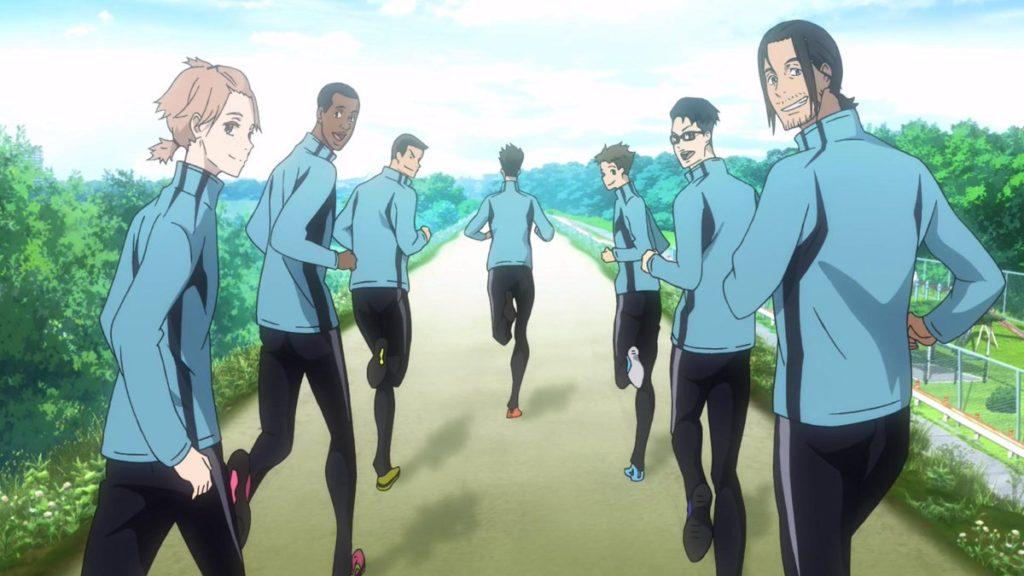 i personaggi di Run in the wind