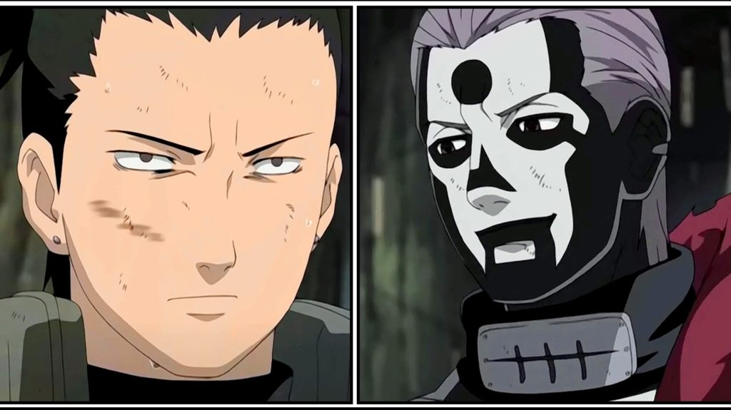 Shikamaru e Hidan