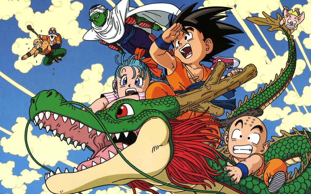 I protagonisti della prima serie di Dragon Ball