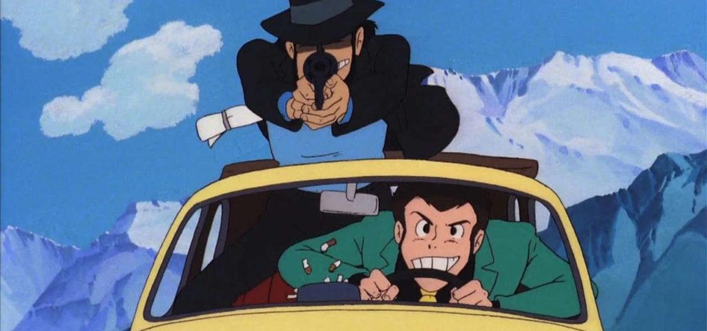 Jigen e Lupin sulla mitica Fiat 500